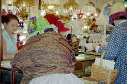 Reenactor's Wives Shop in Village