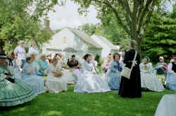 Ladies Tea on Court House Lawn